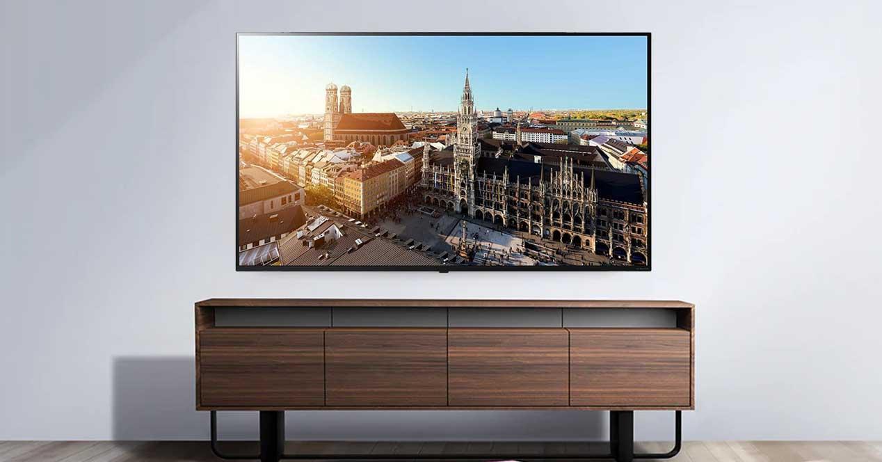Descuento en Amazon de más de 800€ en la Smart TV LG 65SM8500PLA en oferta