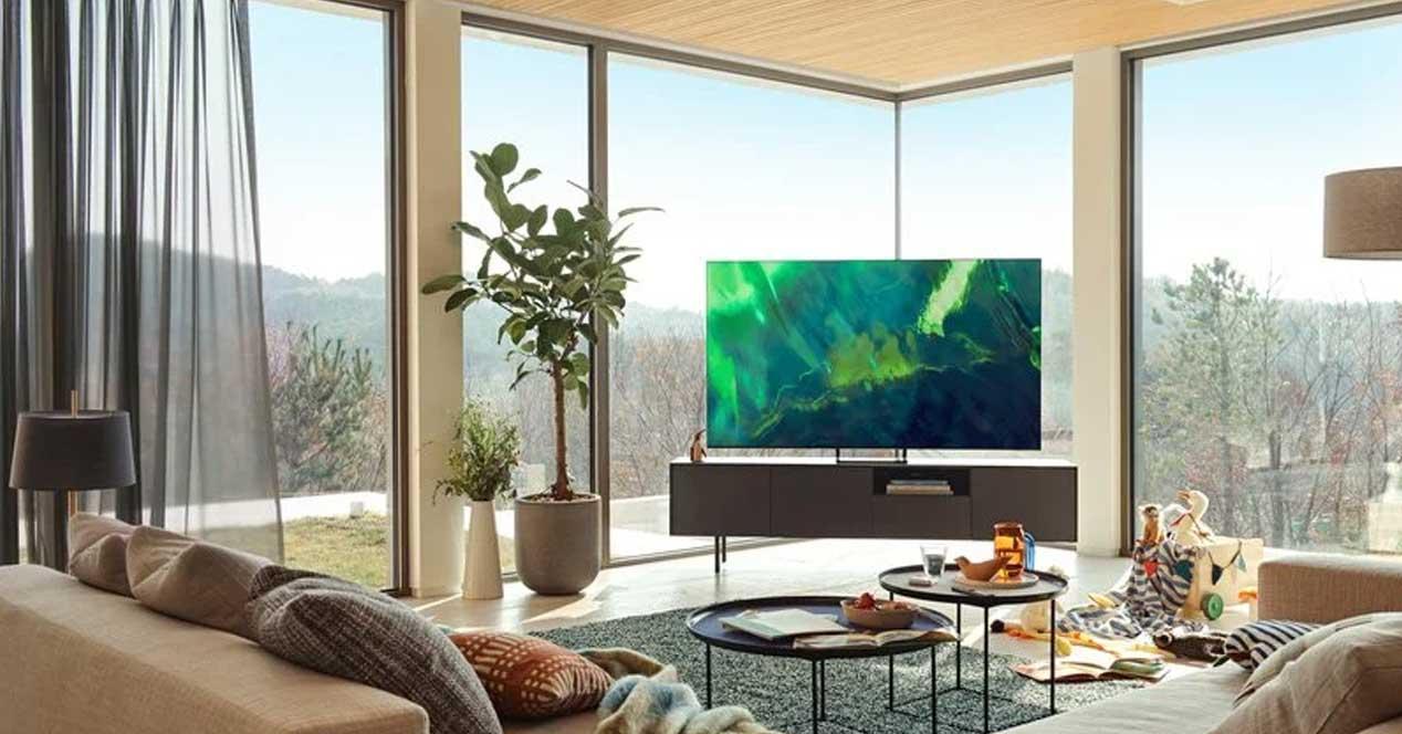 smart tv samsung QE65Q70AATXXU en oferta