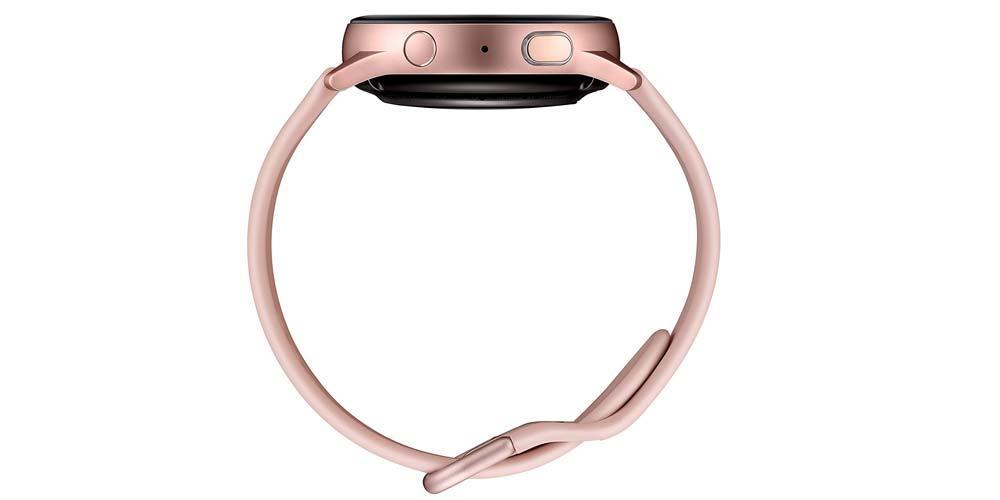 Lateral del smartwatch Samsung Galaxy Watch Active 2