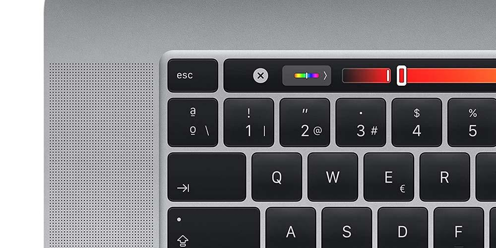 Touch Bar del Apple MacBook Pro