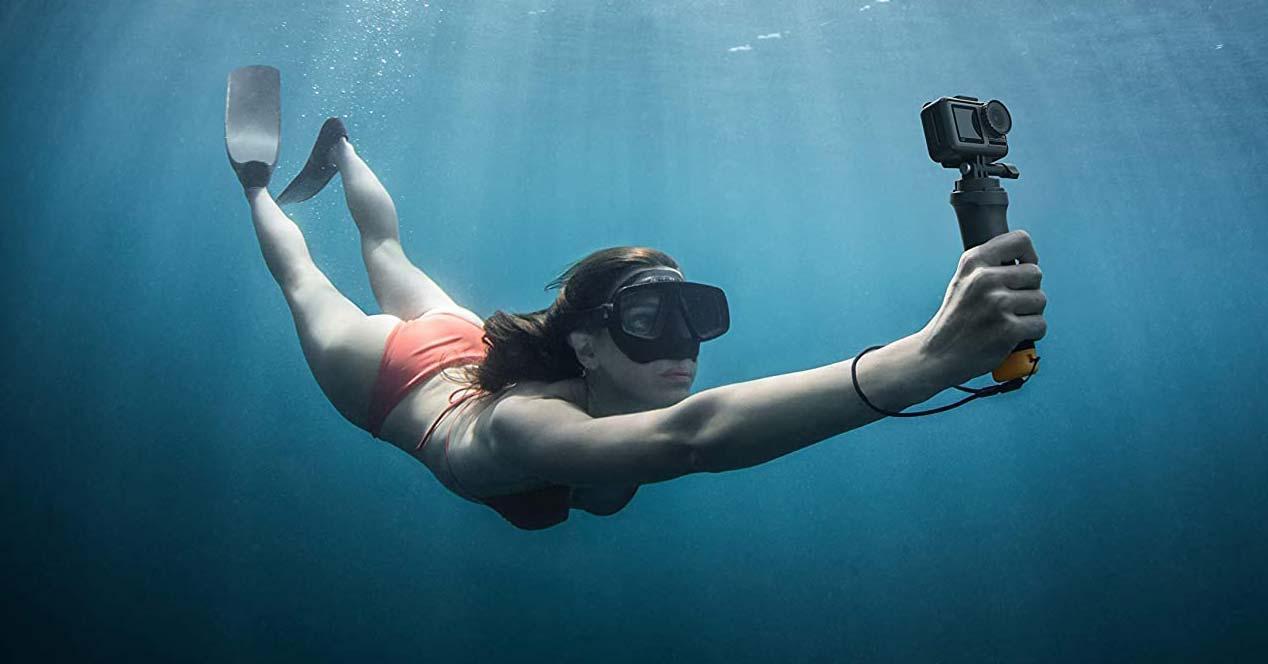 Uso en el agua de la cámara de acción DJI Osmo Action Cam