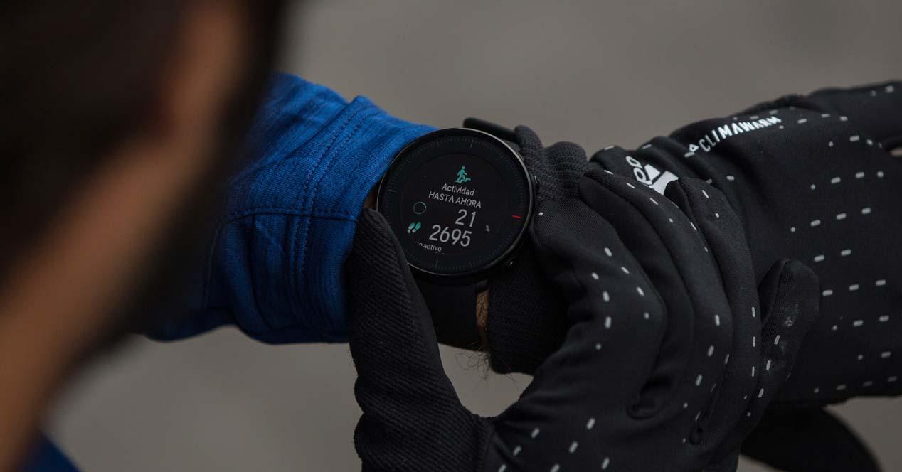 Uso del smartwatch Polar Vantage M