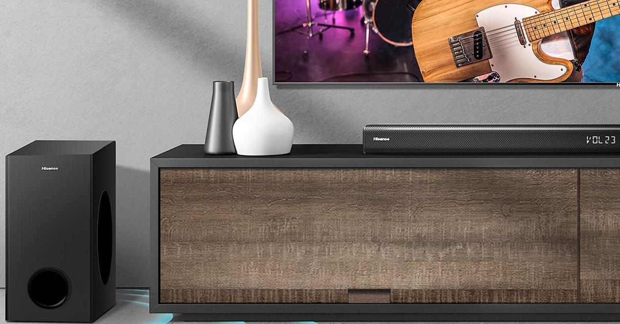 barra de sonido hisense