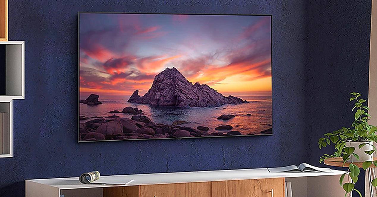 Smart tv samsung 75Q64T en oferta