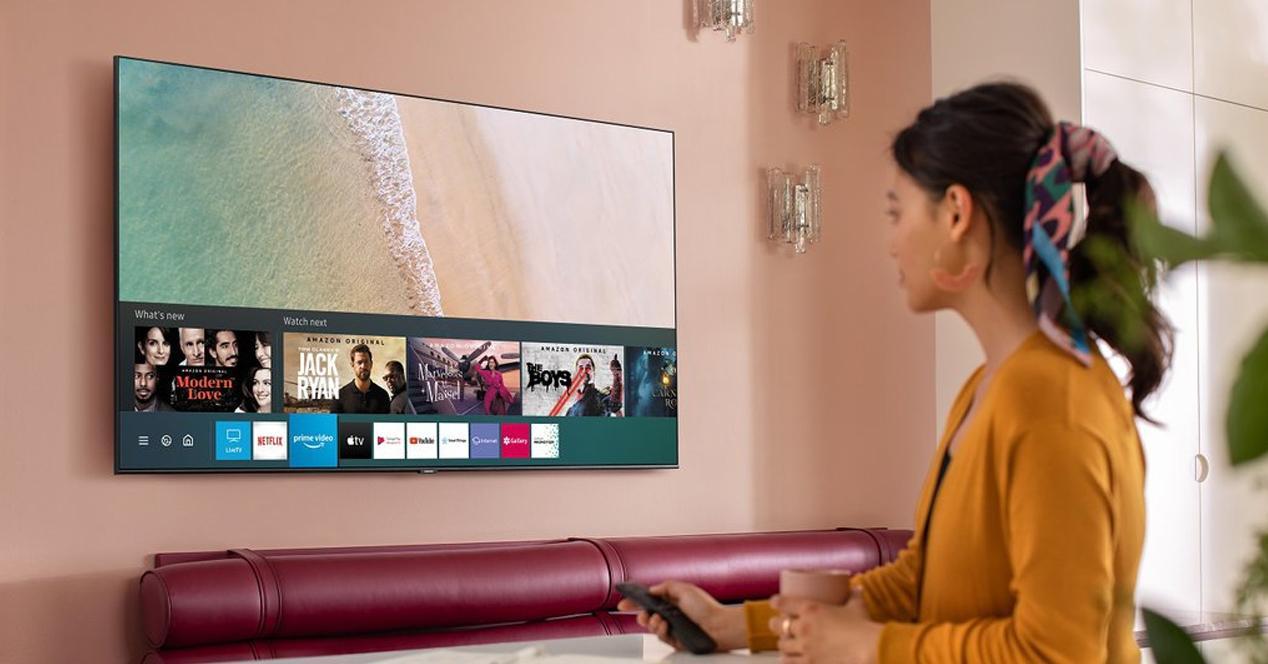 smart tv samsung QE55Q67T
