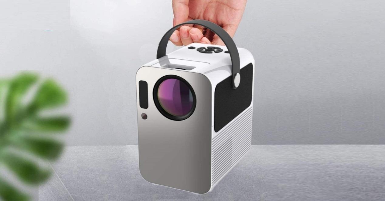 proyector 4k con chromecast