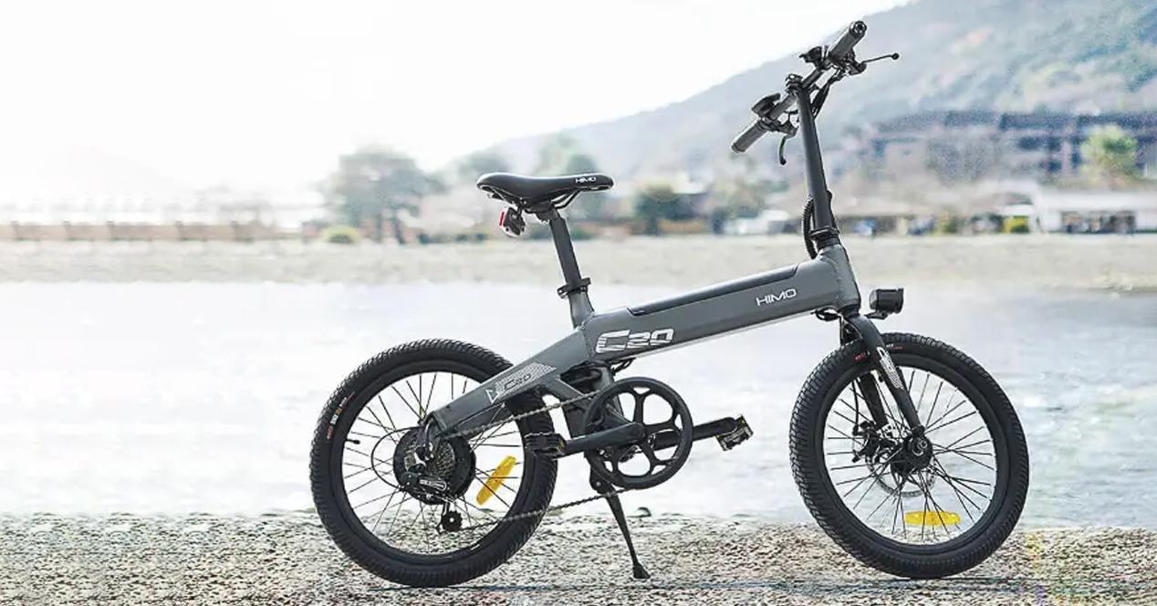 bicicleta eléctrica HIMO C20