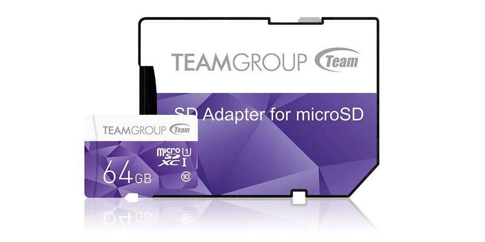 Tarjeta microSD Team Group Color Card