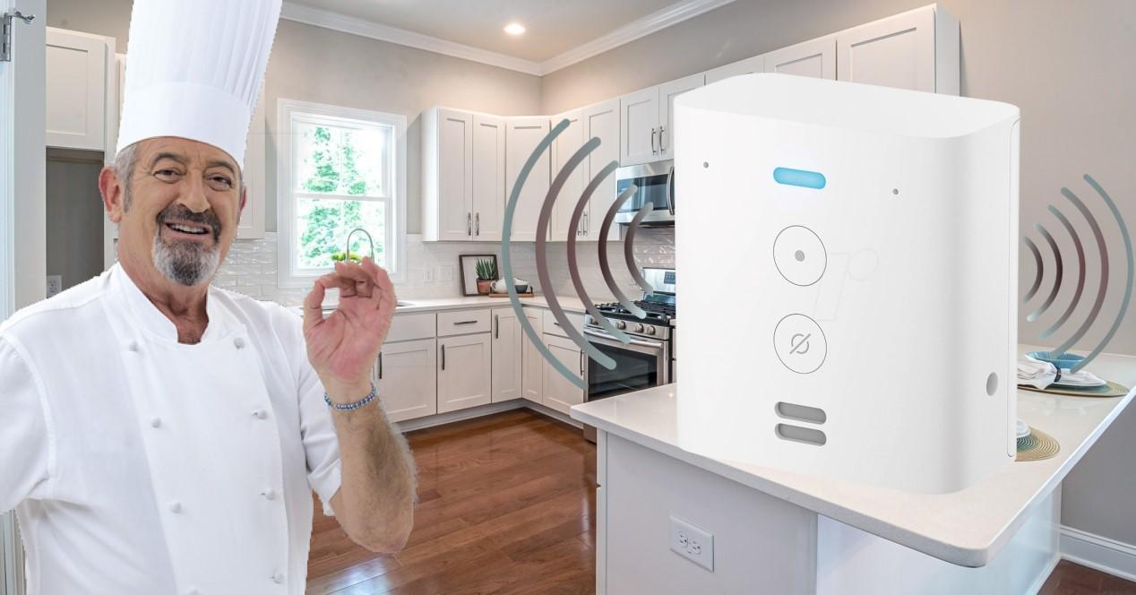 arguiñano y cocina con Alexa