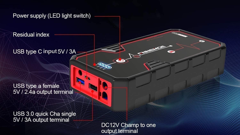 Arrancador baterías
