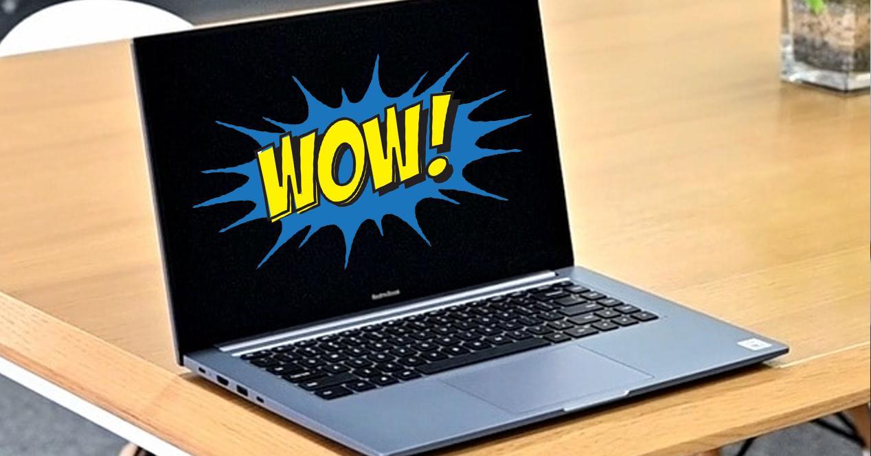portatil xiaomi redmibook 16 en oferta