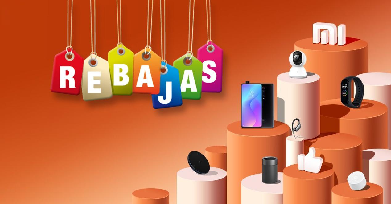 rebajas productos Xiaomi