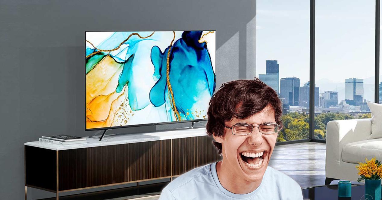 smart TV Hisense 65u8QF en oferta