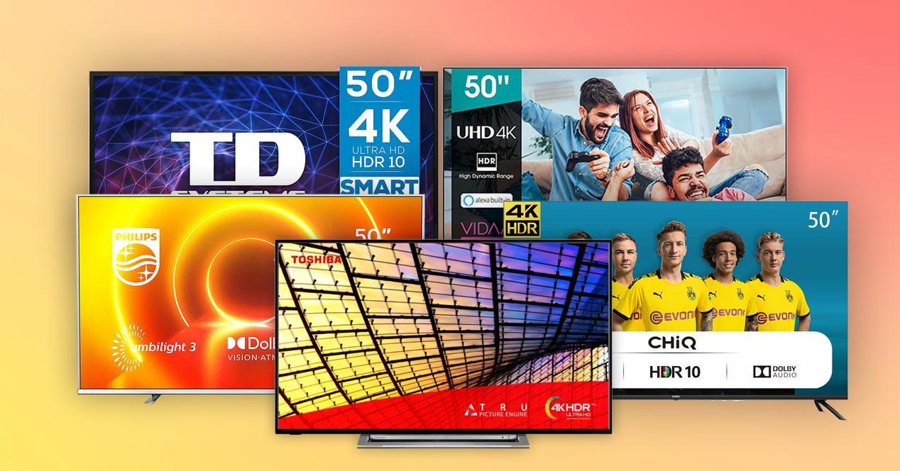 smart tv 50 pulgadas ofertas