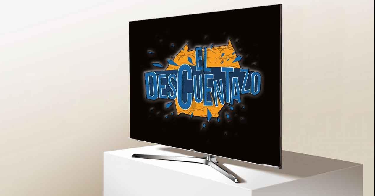 smart tv hisense h55u7a en oferta