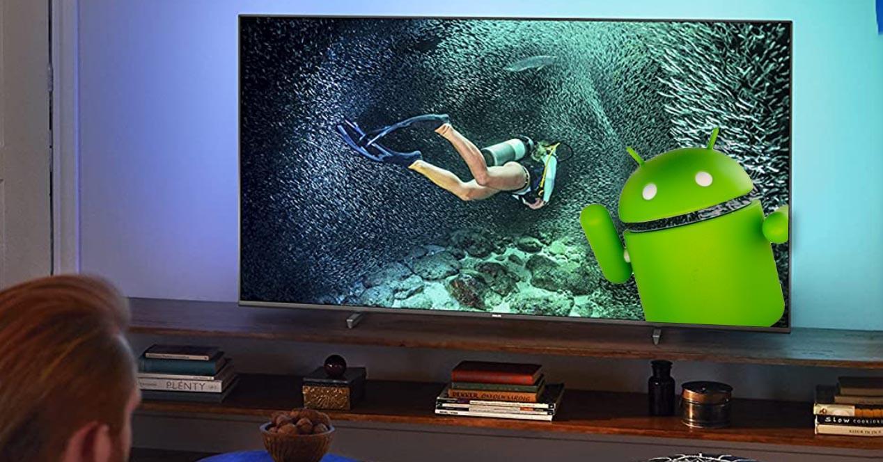 smart tv philips con android en oferta