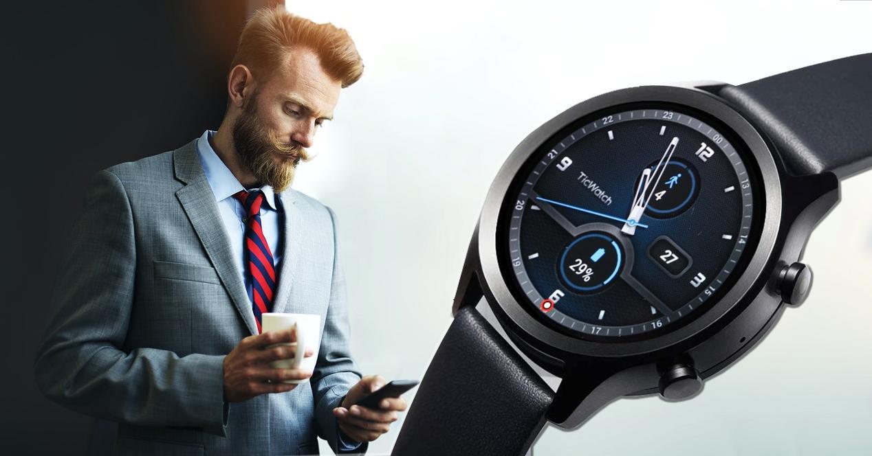 smartwatch ticwatch c2+ en oferta