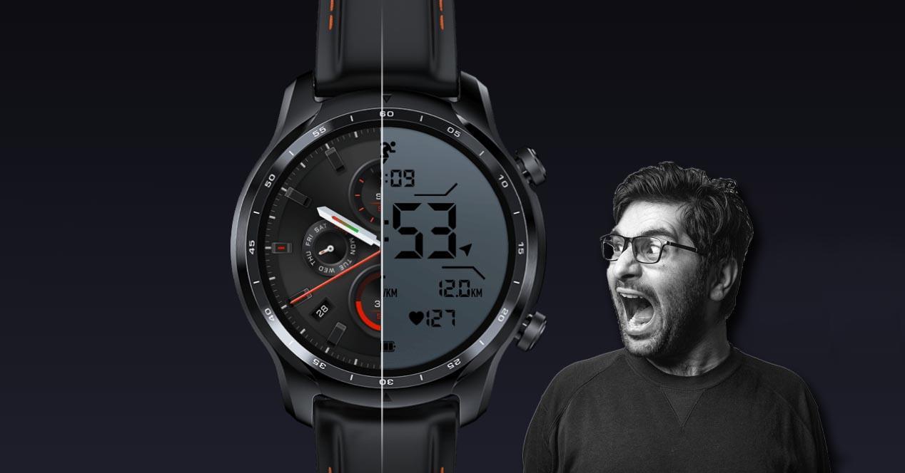 ticwatch pro 3 doble pantalla