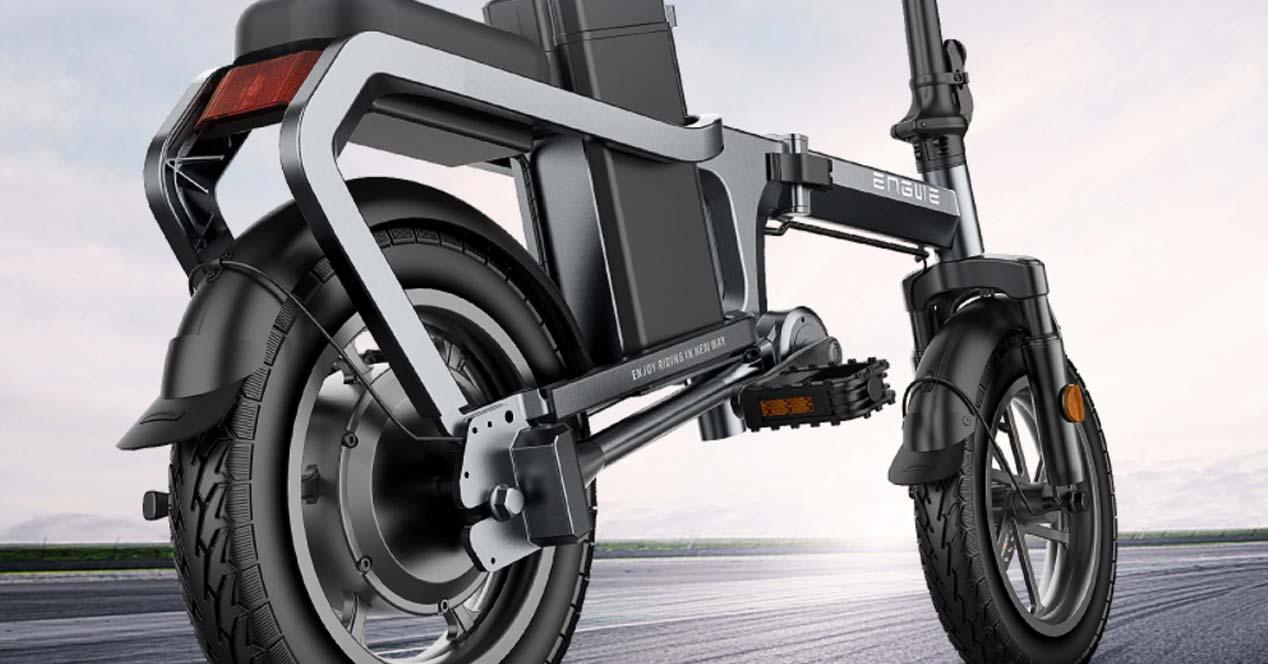 Diseño de la bici eléctrica ENGWE X5S
