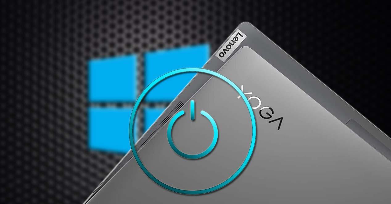 Tapa del Lenovo Yoga S740-14IIL con fondo