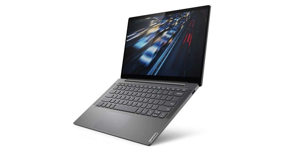 Latéral du portatif Lenovo Yoga S740-14IIL