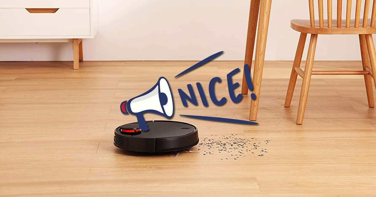 Uso del Xiaomi Mi Robot Vacuum Mop P en una casa