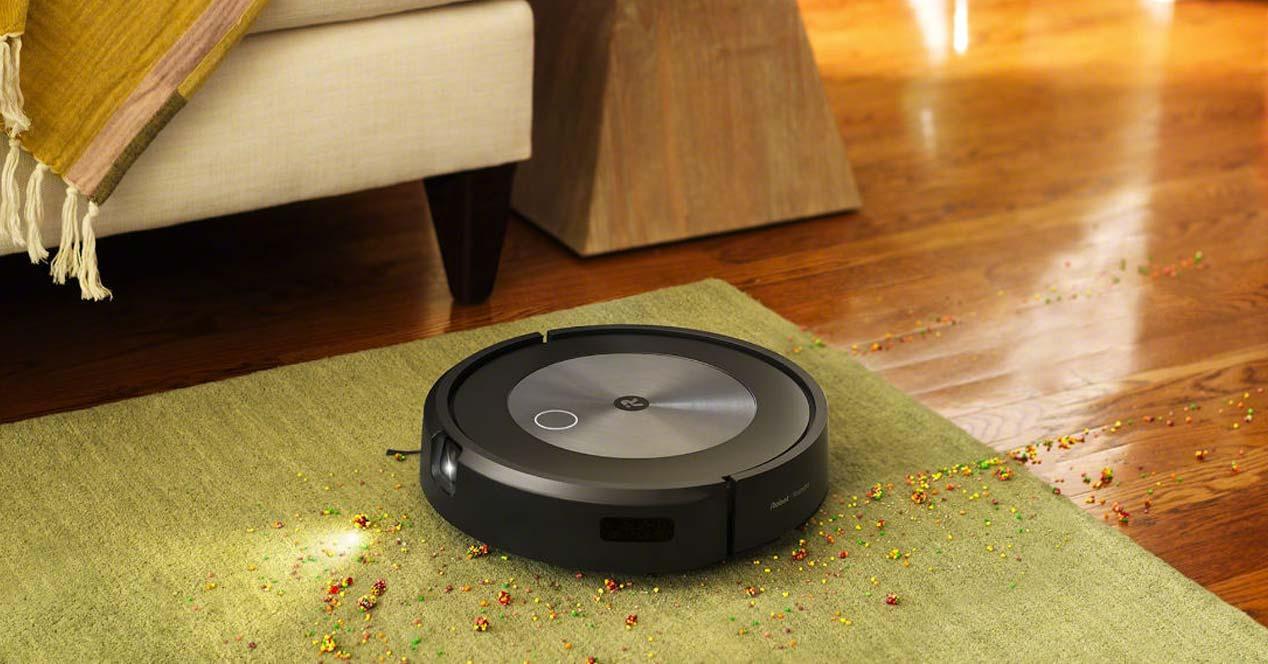 Uso del aspirador Roomba j7+