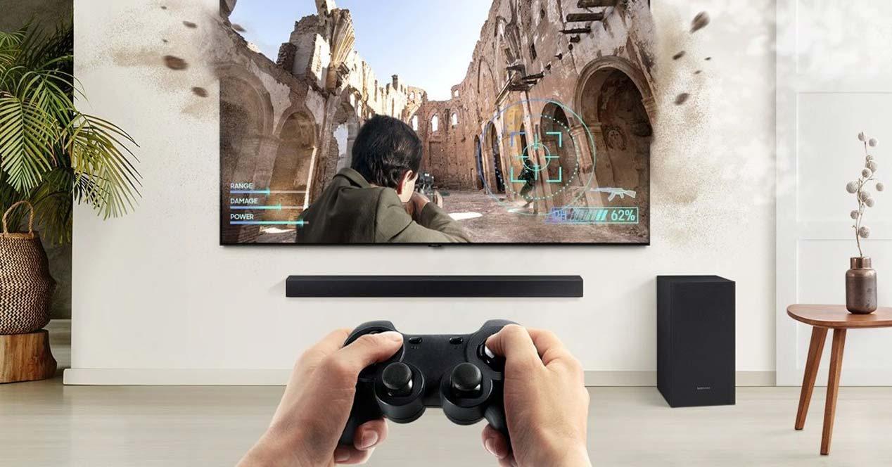 Jugando con la barra de sonido Samsung HW-T650