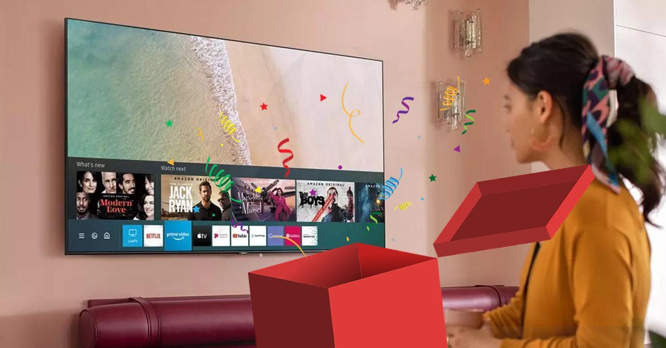Smart TV Samsung 4K HDR en oferta
