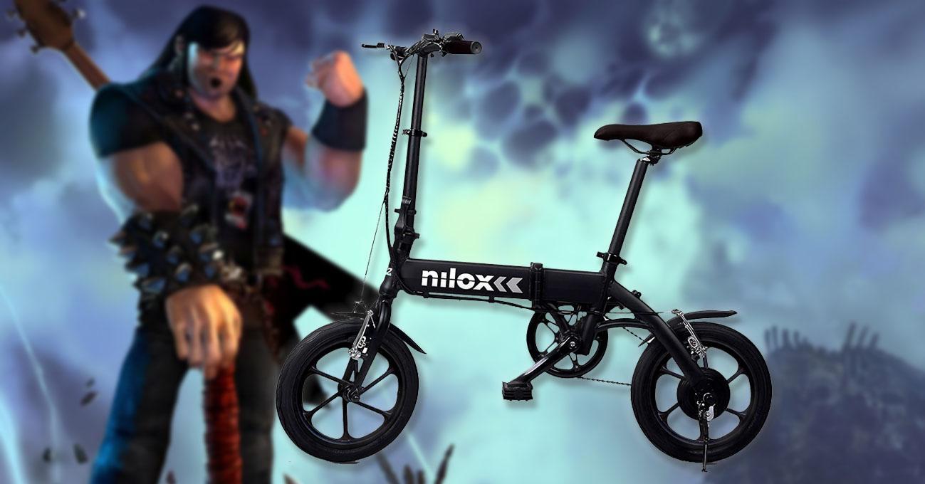 bicicleta electrica nilox oferta