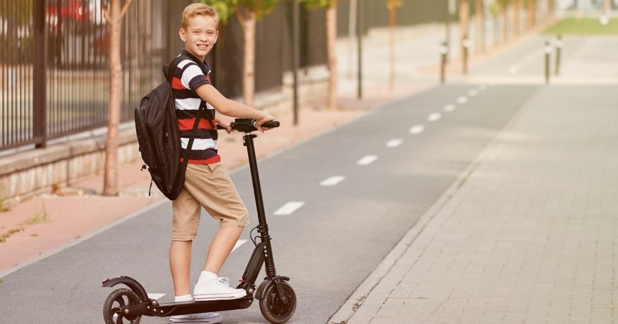 scooter electrico niño