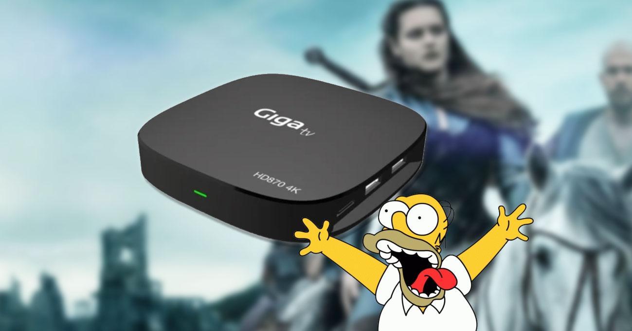 tv Box 4K en oferta