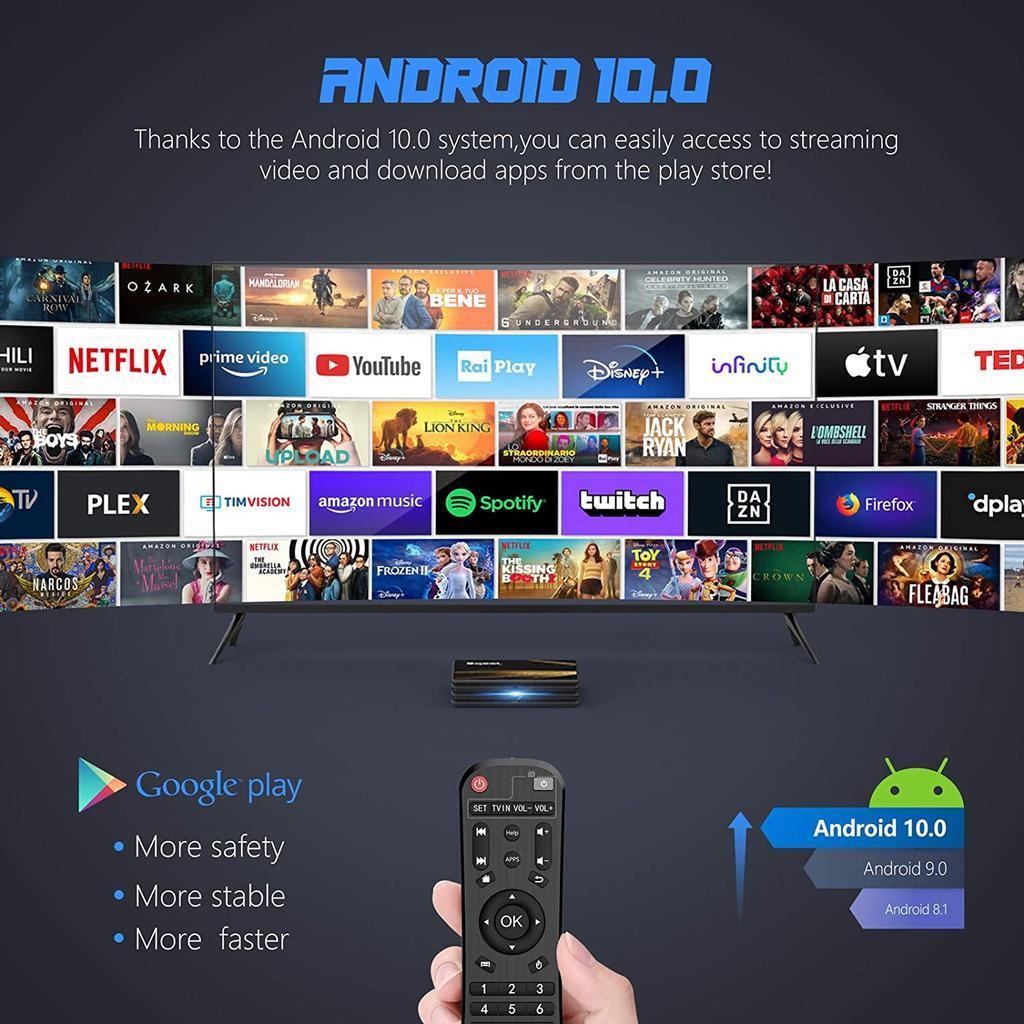 applications de boîte de télévision