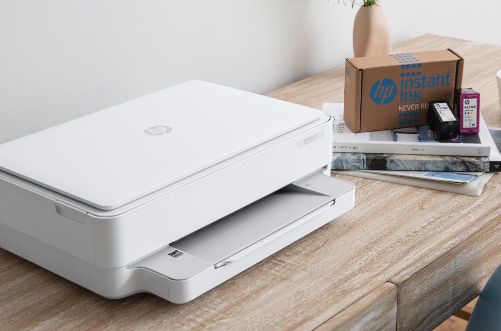 Impresora y caja de Instant Ink