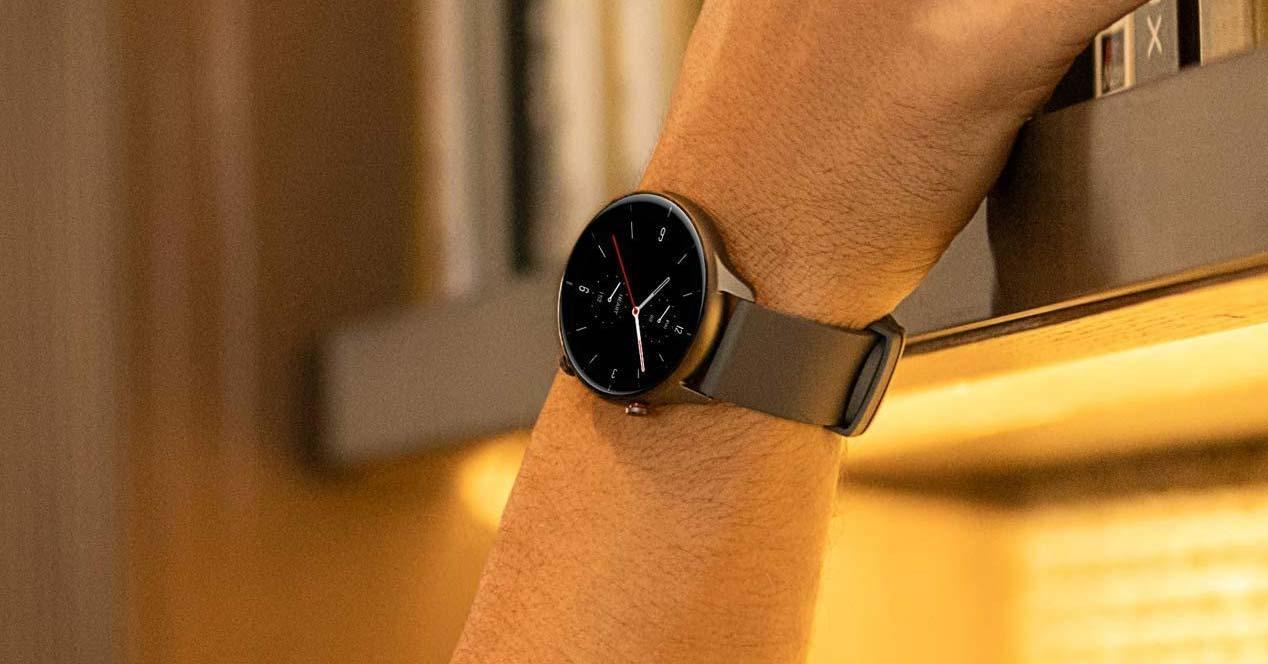 Uso del reloj Amazfit GTR 2