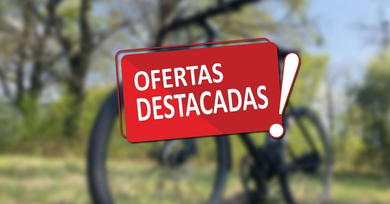 Oferta con fondo bici