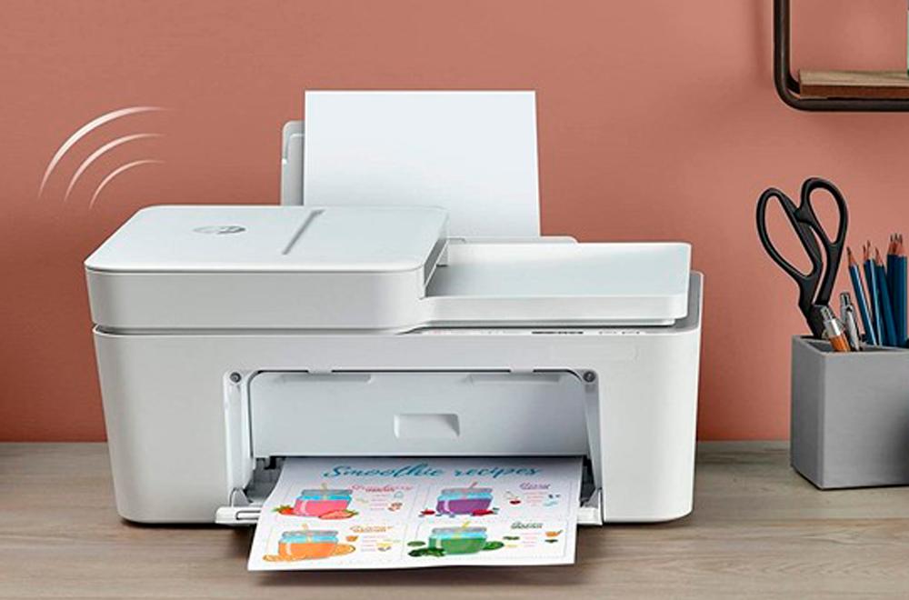 Impresora HP+ recibiendo información