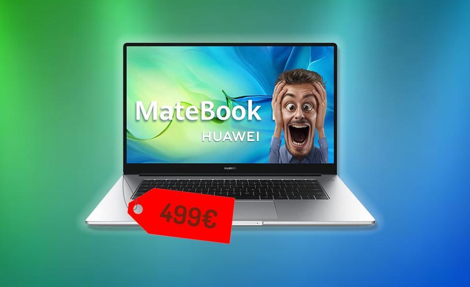 portatil huawei matebook d15 oferta