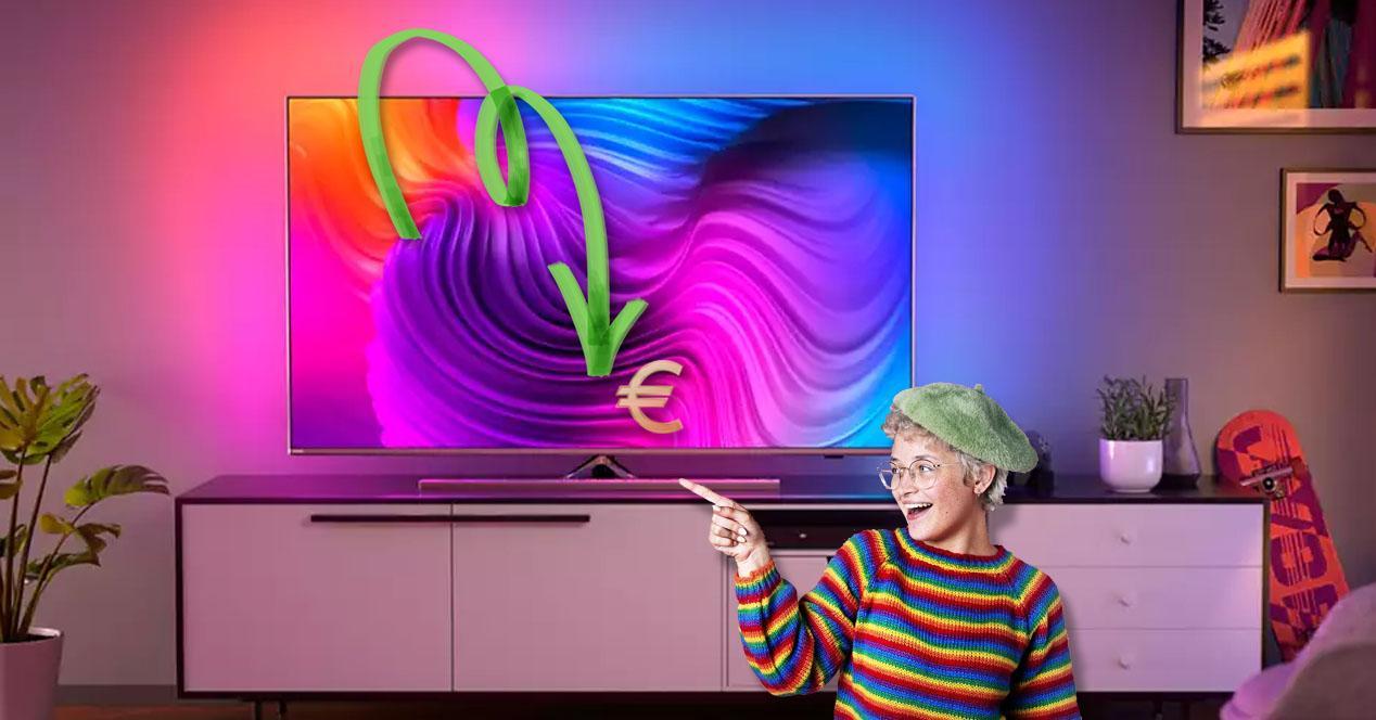 smart tv philips oferta