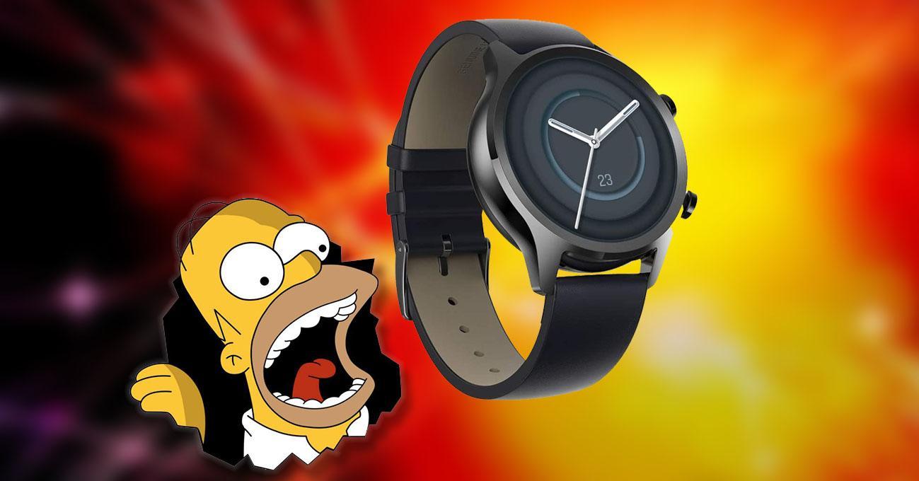 Reloj ticwatch c2+ en oferta